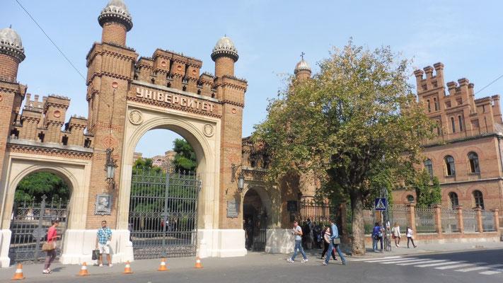 Die Universität gehört zum Weltkulturerbe