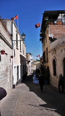 Kleine Gässchen im San Lazaro Viertel