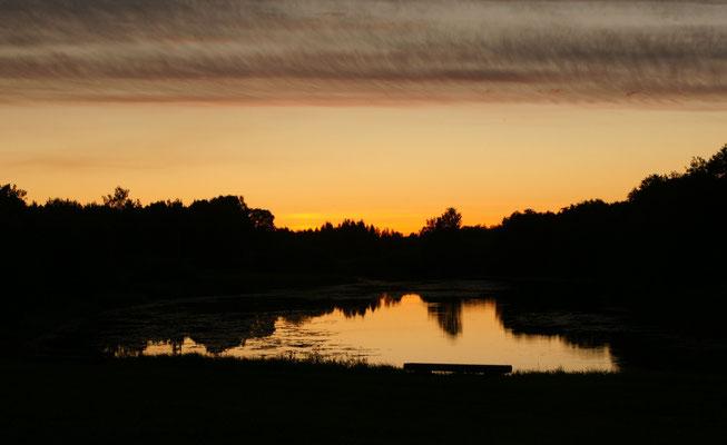Versöhnlicher Sonnenuntergang
