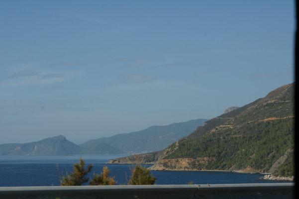 Der wohl schönste Küstenabschnitt der südlichen Türkei