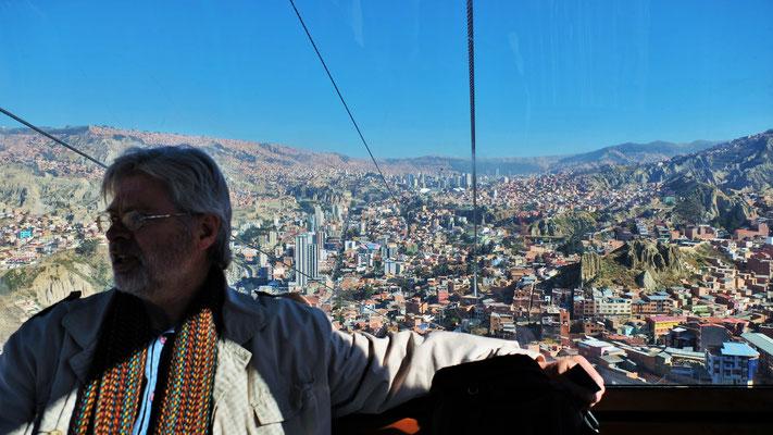 Wir überblicken die La Paz