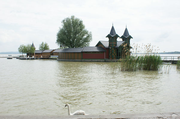 Badesteg in Kesthely