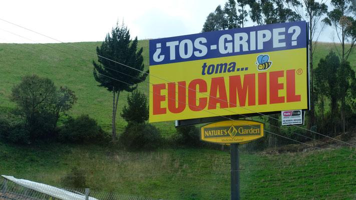 Auch in Ecuador gibt es Grippe.