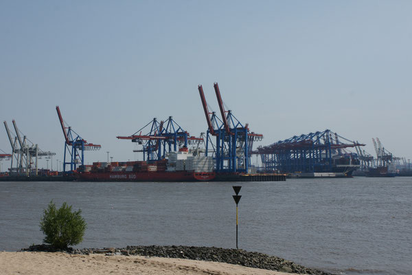 Bis zum Beginn des Hafens