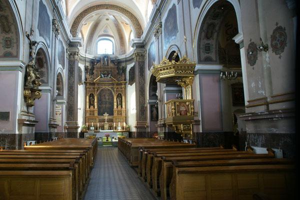 Franziskanerkirche in Glatz