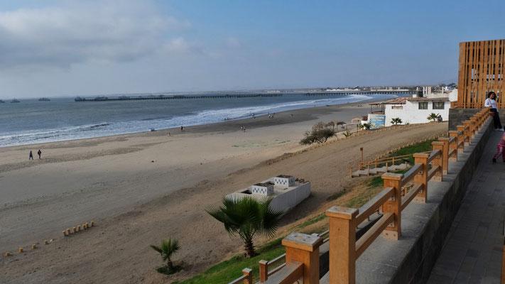 der Strand von Puerto Chicama