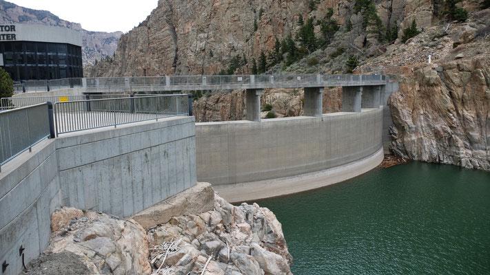 Im Visitor Center des Buffalo Bill Dam
