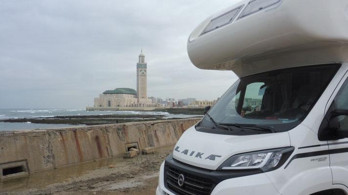 Grosse Moschee in Casablanca