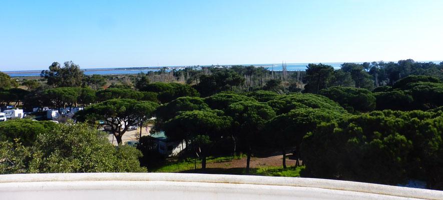 Super Aussicht vom Balkon der Villa