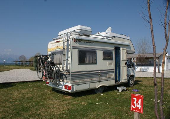 Wunderschöner moderner Campingplatz am Shkodrasee