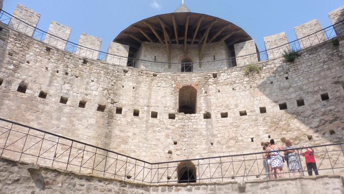 Innen in der Festung