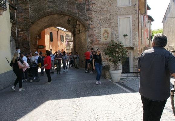 Borghetto heute mit viel Volk