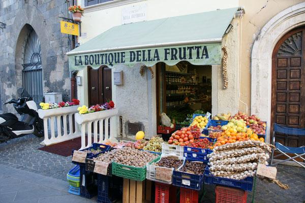 Frisches Gemüse in Bolsena