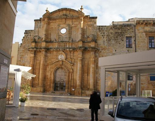 Die Ueberreste der Kirche Ignazio