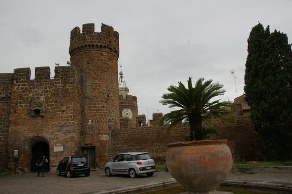 Das Museum von Cerveteri in der Burg.