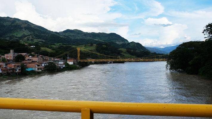 Rüber über den Rio Cau