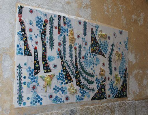 Kunstwerke im Tunesischen Viertel...fast