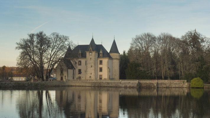 In Nieul beim Schloss