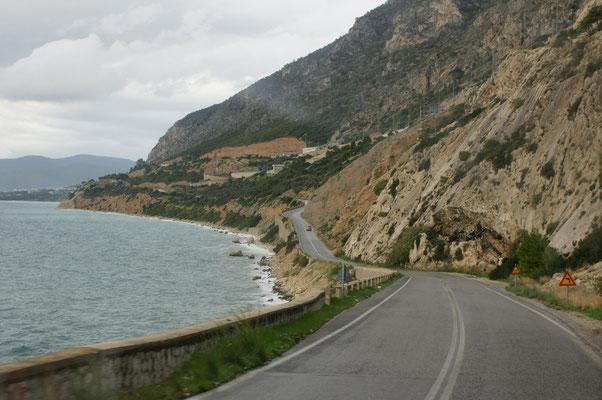 Der Küste entlang