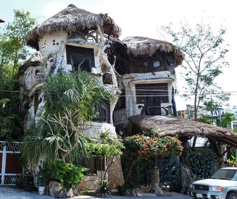 sehr originelles kleines Hotel in Puerto Morelos