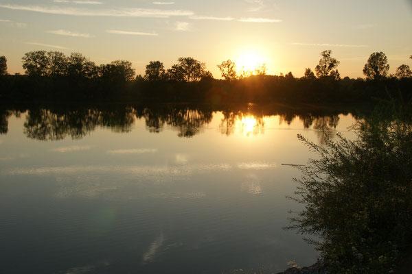 Sonnenuntergang für uns alleine