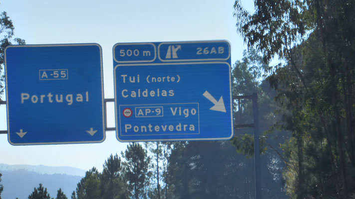Bald sind wir in Portugal