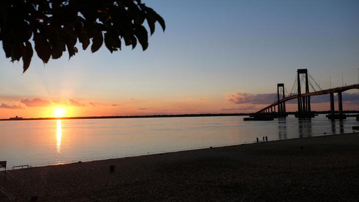 Abendstimmung in Corrientes