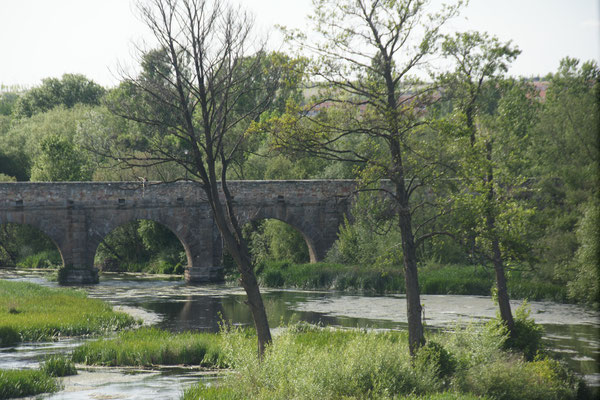 Die römische Brücke in Salamanca