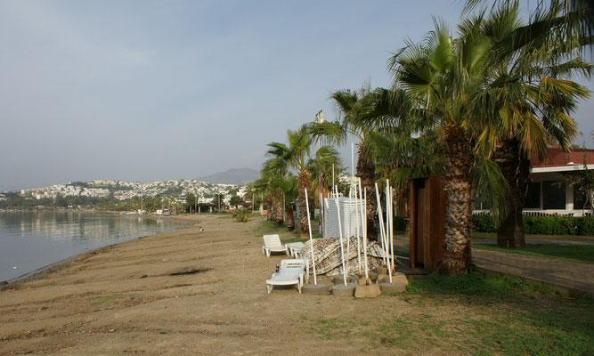 Die ruhige Bucht von Gümbet