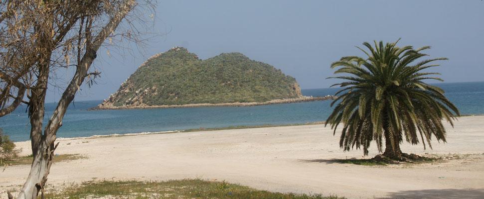 Der Strand von Cala Iris. Ich möchte am liebsten direkt hier bleiben.