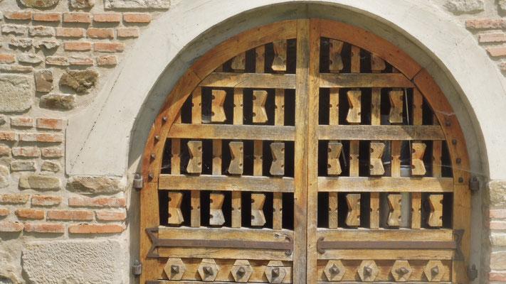 Gut verschlossene Tore