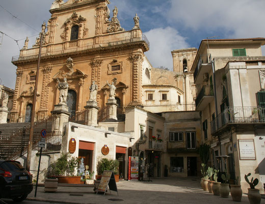 Die Kirche San Pietro  in Modica
