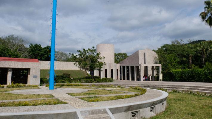 Die Ruinen von El Tajin können nicht besucht werden.