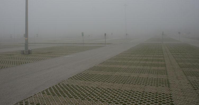Wir werden immer mehr vom Nebel verschluckt.