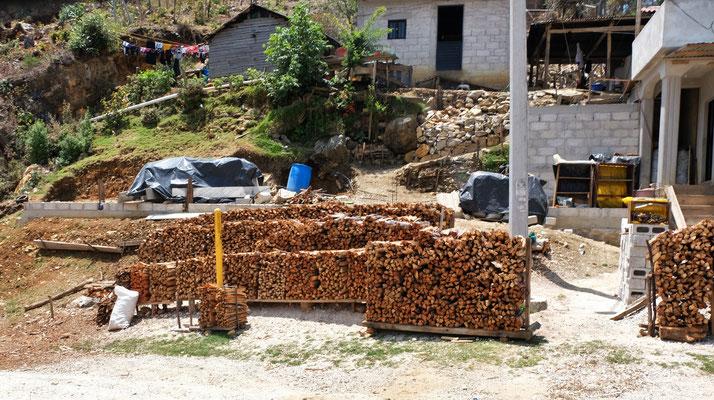 Holz für die kalten Nächte