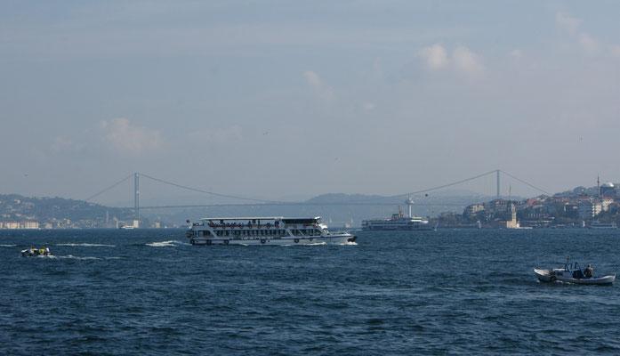 Die Brücke über den Bosporus