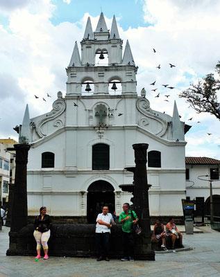 Eine der Kirchen im Zentrum