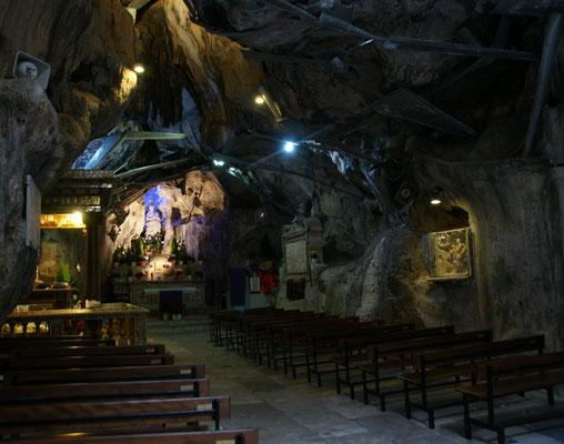 Die Grotte der heiligen Rosalia