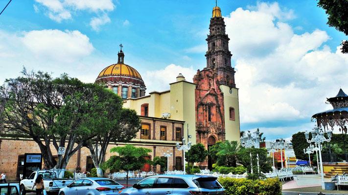 Es sind schon ganz andere Kirchen in Mexiko, als in den USA