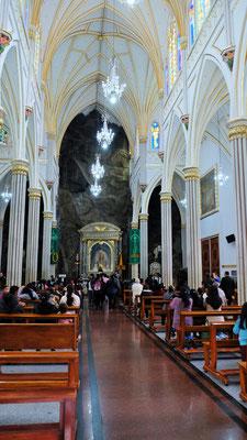 Im Inneren der Wallfahrtskirche