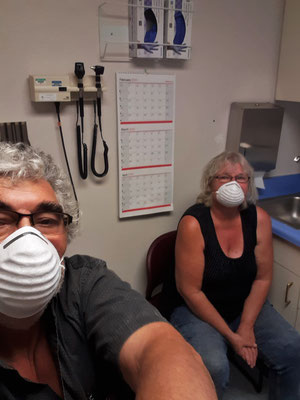 Im Gesundheitszentrum in West Wendover