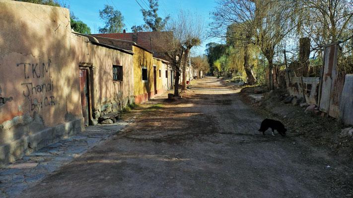 Seitensträsschen in Tupiza