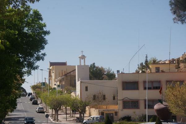 Eine christliche Kirche in Midelt