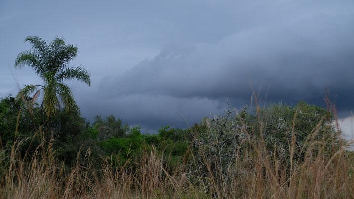 bis uns das Wetter zur Umkehr zwingt.
