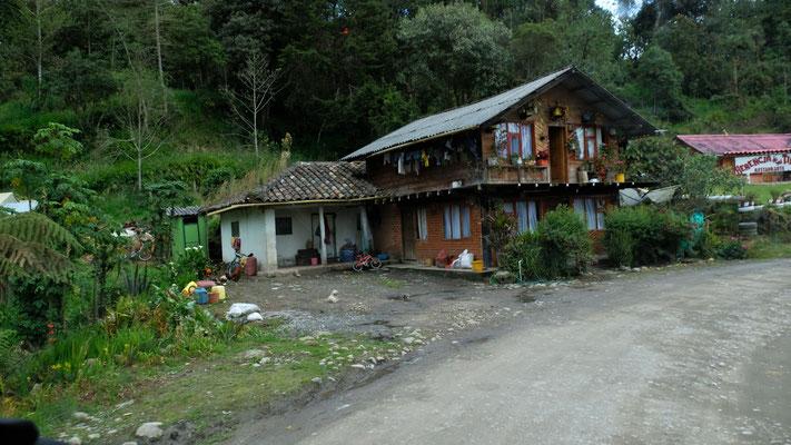 Chalets in Kolumbien