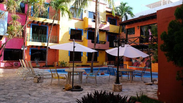 Eines der kleineren Hotels
