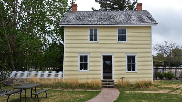 Das Geburtshaus von William Cody alias Buffalo Bill wurde...