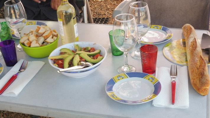 Vorspeise:  Marokkanischer Salat a la Franz