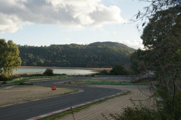 Nicht möglich an den Lago di Pergusa zu kommen, schade