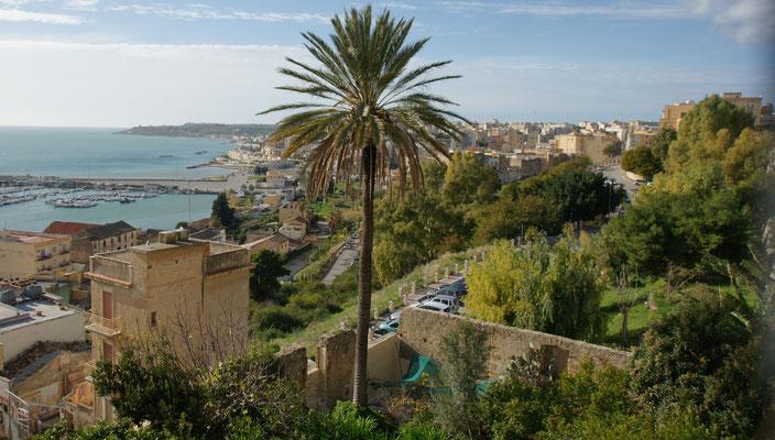 Blick von der Altstadt Sciacca